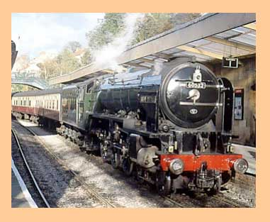 North Yorkshire Moors Railway from Lendales Farm holidays